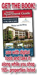 Order a copy of Tuscaloosa Apartment Guide